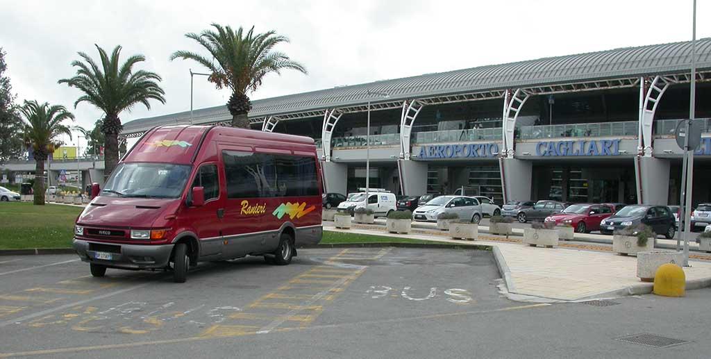 Collegamento Bus da Nuoro all'Aeroporto di Cagliari Elmas