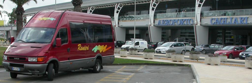 Bus Transfer Nuoro - Cagliari Aeroporto e Porto